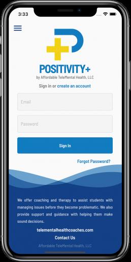 Positivity+ App